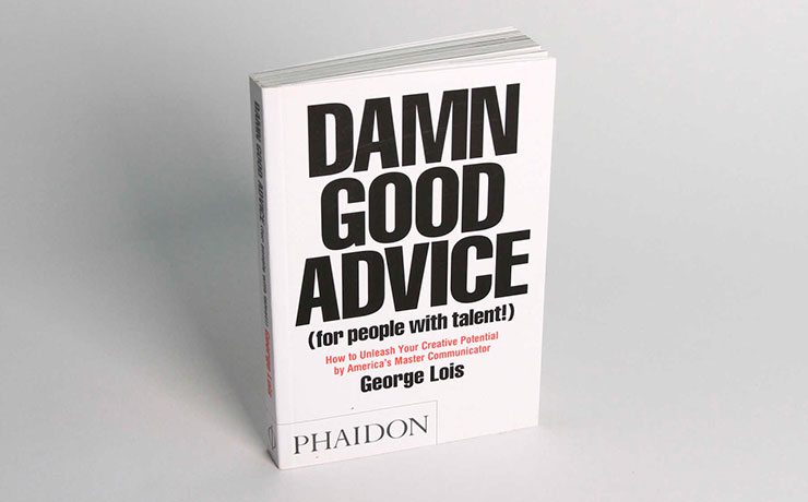 Marco Laganà and George Lois: advertising from the top people