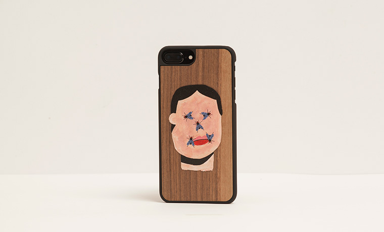 Michele Papetti x Wood'd iPhone Cover