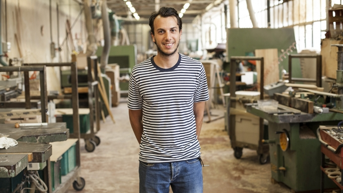 Andrea Aschieri talk inspiration and daily habits for Wood'd Uncovered