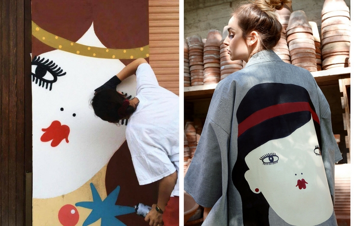 La Fille Bertha, behind the scenes of the Italian Illustrator | Wood'd Uncovered