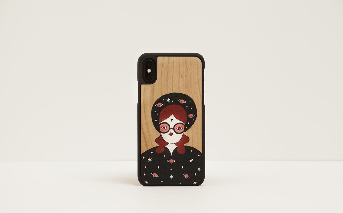 Fille Bertha X Wood'd iPhone cover | Uncovered