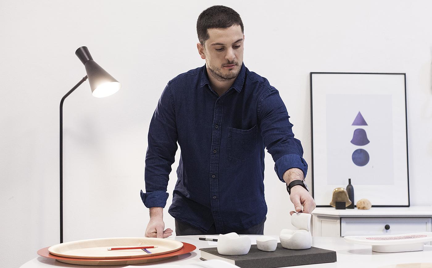 Simone Bonanni, product designer from Milan