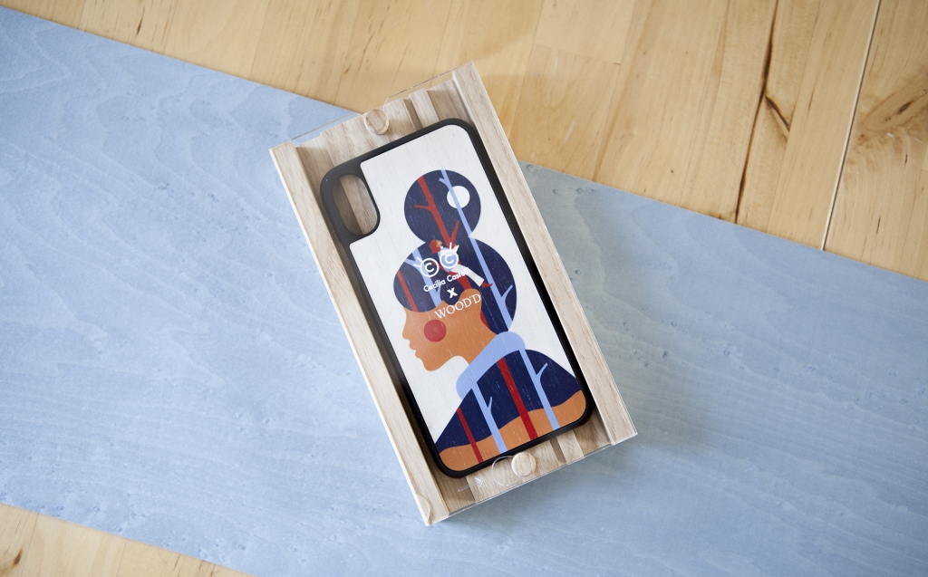 Cecilia Castelli x Wood'd Apple iPhone Cover